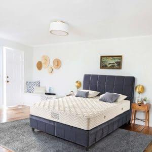 מיטה מרופדת עם ארגז מצעים דגם דיווה אקין