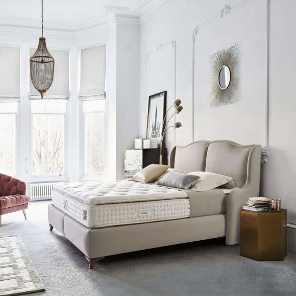 מיטה מורפדת עם ארגז מצעים דגם הרא וויויאן