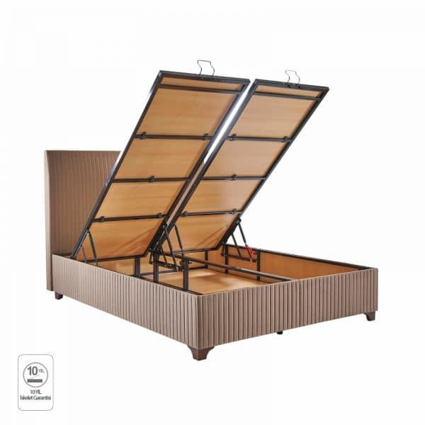 מיטה מרופדת עם ארגז דגם פלטו ראפיד