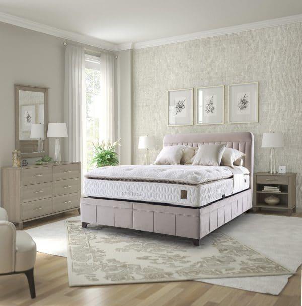 מיטה מרופדת דגם דיווה מלטה
