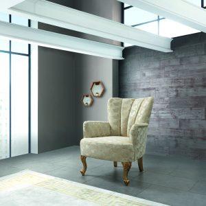 כורסא מעוצבת דגם אליפסו
