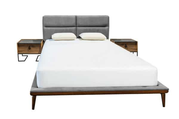 מיטה מרופדת דגם טקסס בעיצוב מודרני מינימליסט איטלקי
