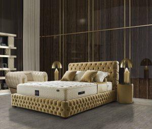 מיטה מרופדת דגם חיויס קריולה